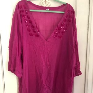 Old Navy plus size beach cover up